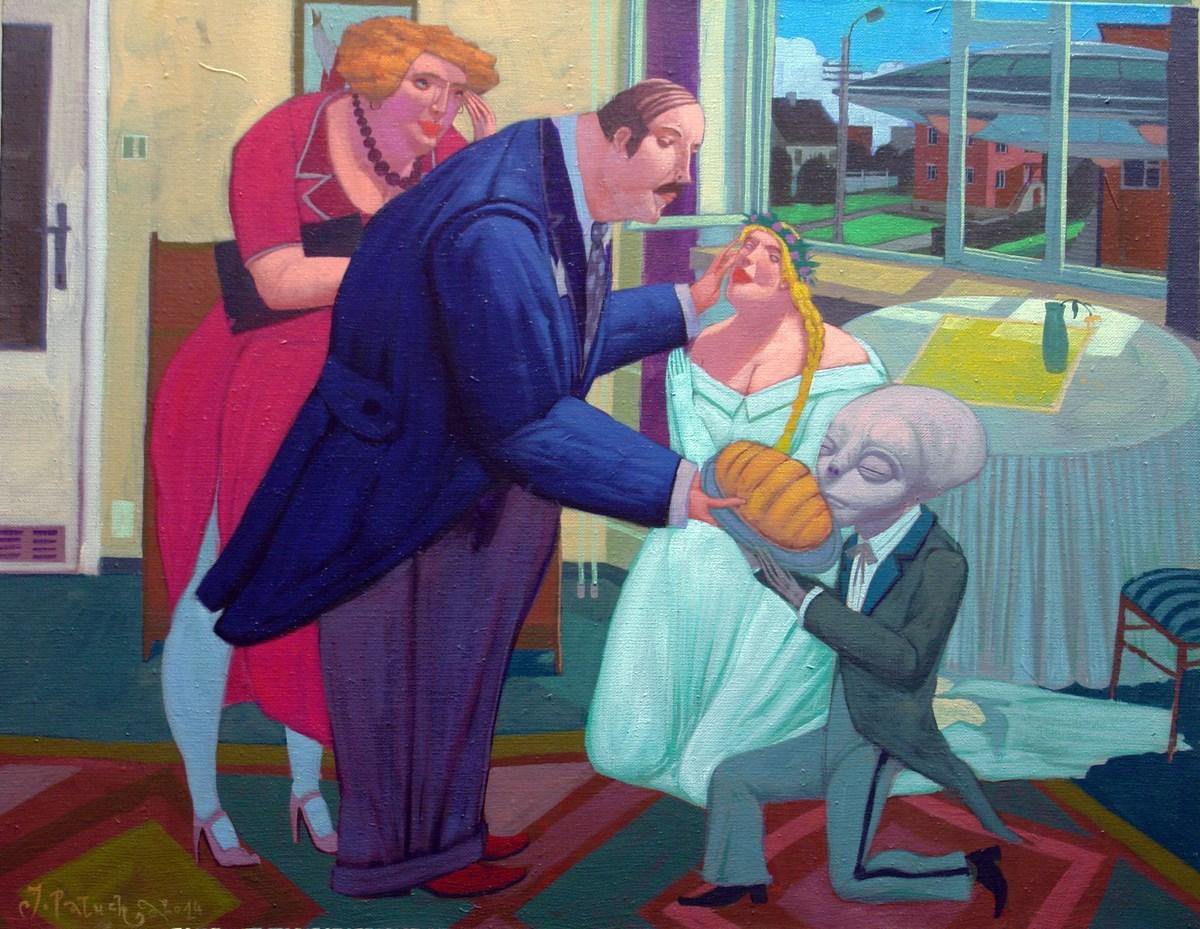 """Jacek Pałucha, """"Happy End"""", 2014 (źródło: materiały prasowe organizatora)"""