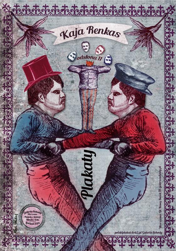 Wystawa Kai Renkas – plakat (źródło: materiały prasowe organizatora)
