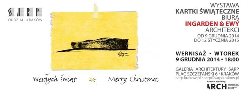 Kartki świąteczne biura Ingarden & Ewý Architekci (źródło: materiały prasowe organizatora)
