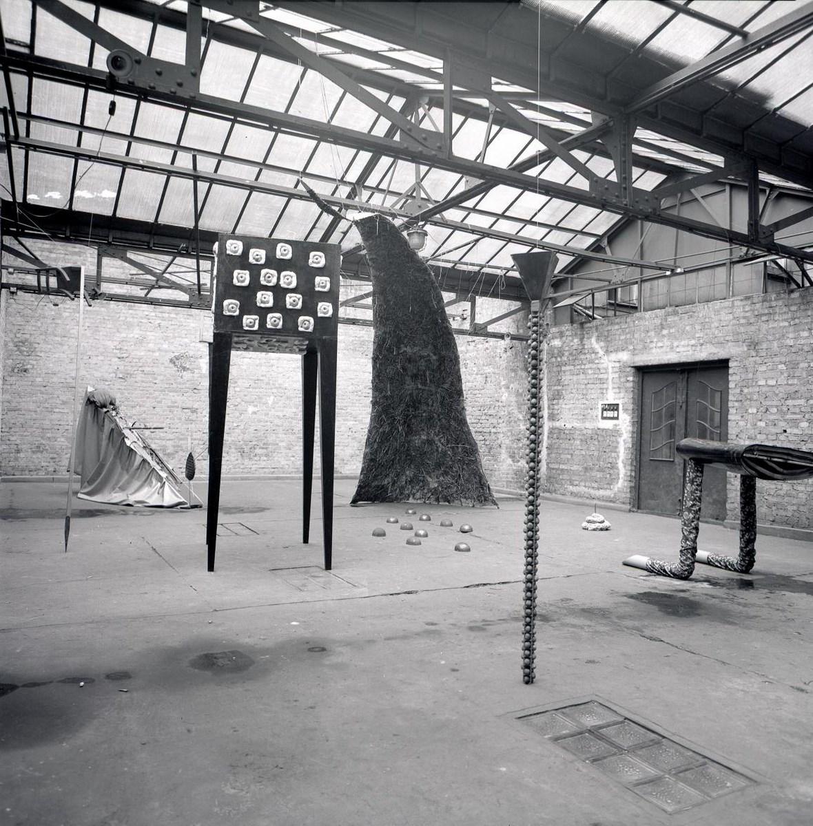 Kolo Klipsa, Wystawa numer 4, maj – czerwiec 1985, fot. Włodzimierz Kowaliński (źródło: materiały prasowe organizatora)