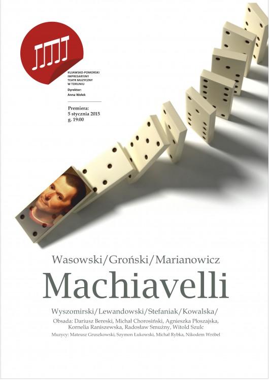 """""""Machiavelli"""", plakat (źródło: materiały prasowe)"""