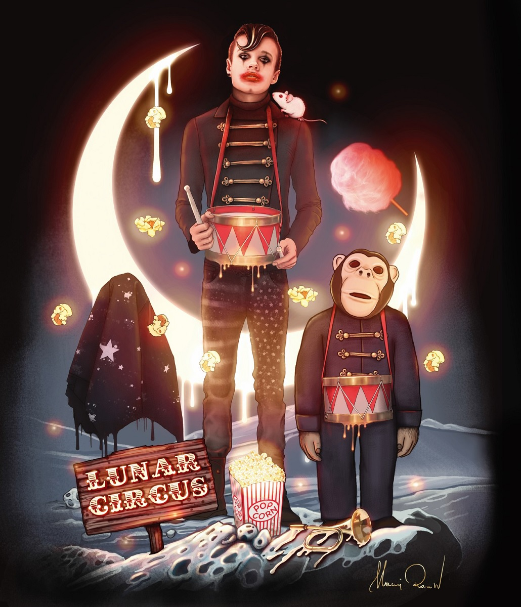 "Maciej Rauch, ""Lunar Circus"" (źródło: materiały prasowe organizatora)"