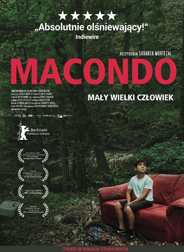 """Macondo"" reż. Sudabeh Mortezai – plakat (źródło: materiały prasowe dystrybutora)"