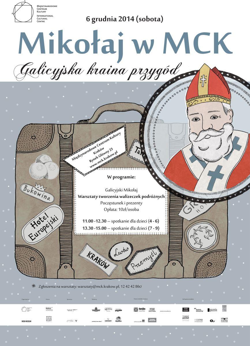 """Mikołaj w MCK, """"Galicyjska kraina przygód"""" (źródło: materiały prasowe)"""