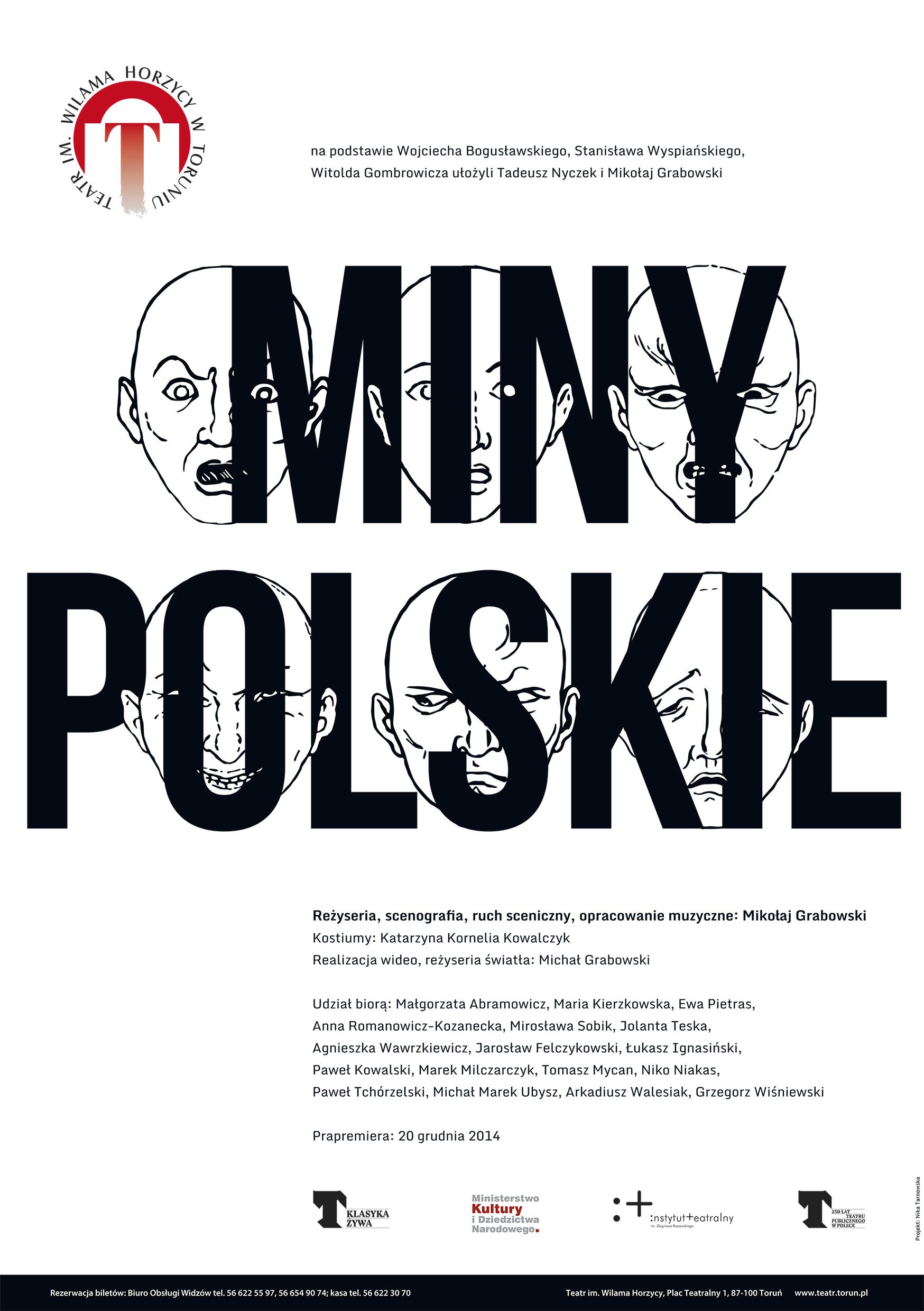 """""""Miny polskie"""", plakat (źródło: materiały prasowe)"""