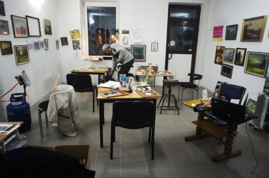"""Zakład Malarstwa """"Nie Do Odrzucenia"""" (źródło: materiały prasowe)"""