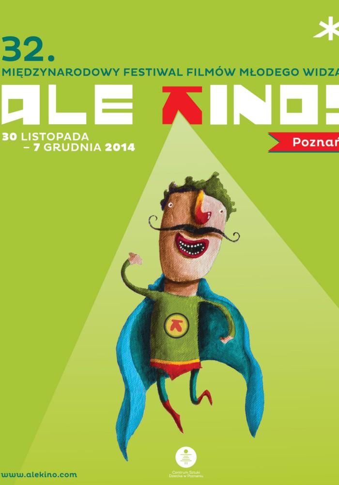 Plakat Międzynarodowego Festiwalu Filmów Młodego Widza (źródło: materiały prasowe organizatora)