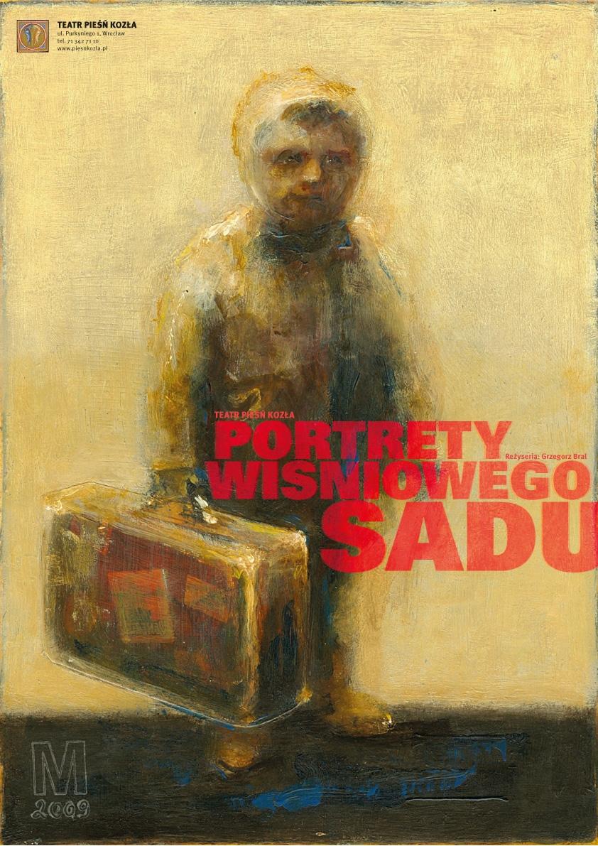 """""""Portrety Wiśniowego sadu"""", plakat (źródło: materiały prasowe)"""