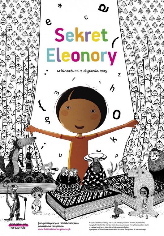"""""""Sekret Eleonory"""" reż. Dominique Monfery – plakat (źródło: materiały prasowe dystrybutora)"""