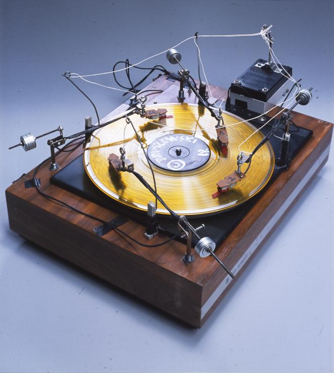 """Wojciech Bruszewski, """"Gramofon"""" (źródło: materiały prasowe organizatora)"""