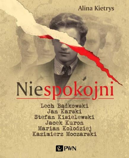 """Alina Kietrys """"Niespokojni"""" – okładka (źródło: materiały prasowe)"""