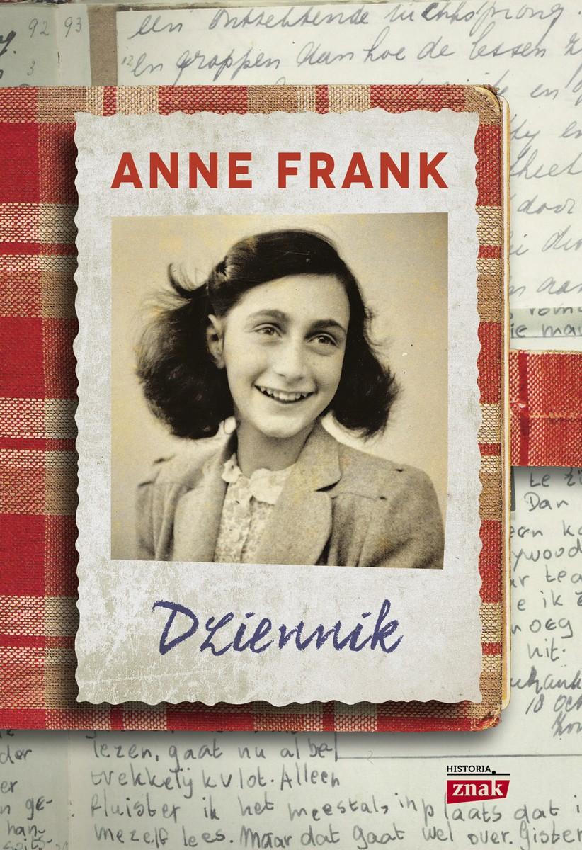 """Anne Frank """"Dziennik"""" – okładka (źródło: materiały prasowe)"""