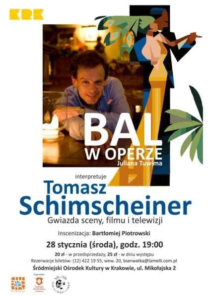 """""""Bal w operze"""", plakat (źródło: materiały prasowe)"""