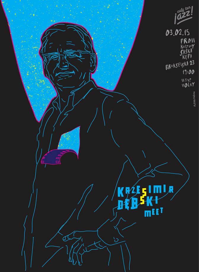 """""""Cały ten jazz! Meet!"""" – Krzesimir Dębski (źródło: materiały prasowe organizatora)"""