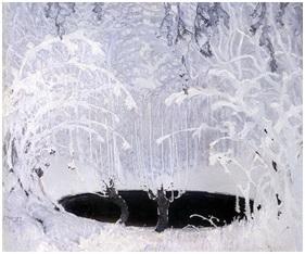 """Ferdynand Ruszczyc, """"Bajka zimowa"""", ze zbiorów Muzeum Narodowego w Krakowie (źródło: materiały prasowe organizatora)"""