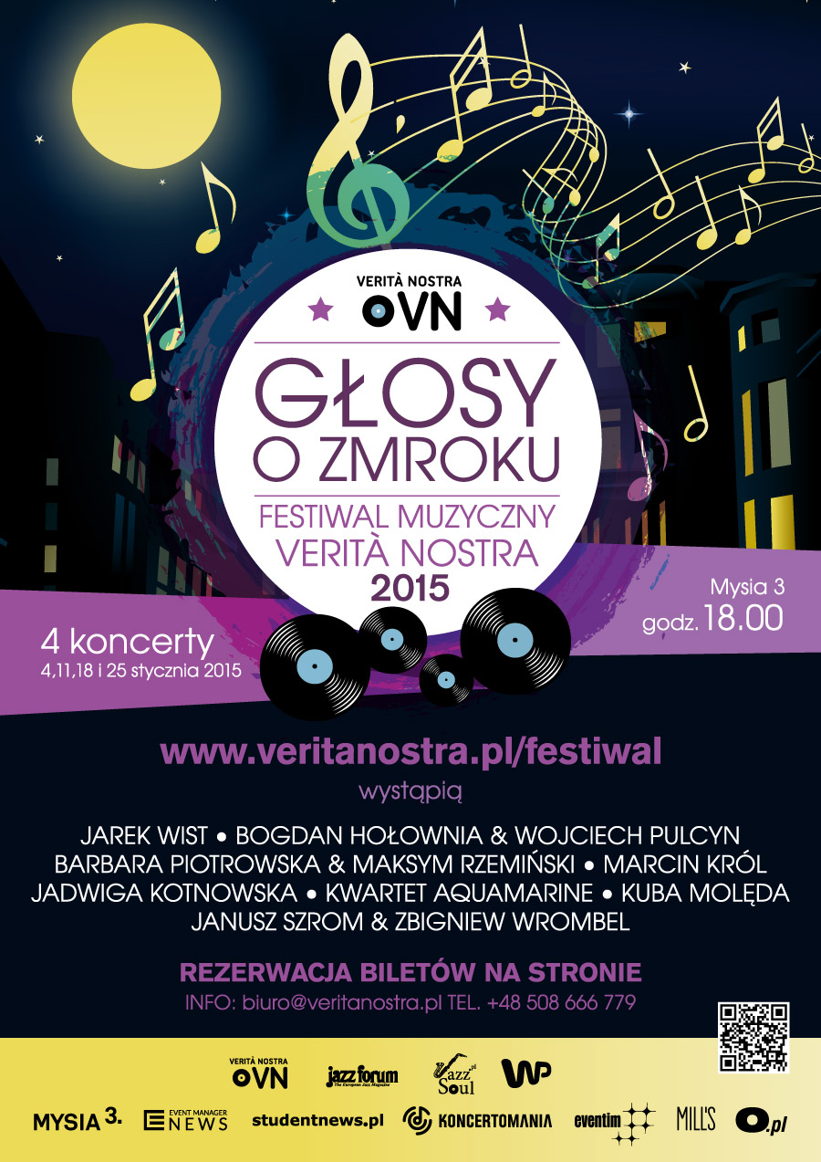 """""""Głosy o zmroku. Festiwal muzyczny Verità Nostra"""" (źródło: materiały prasowe organizatora)"""