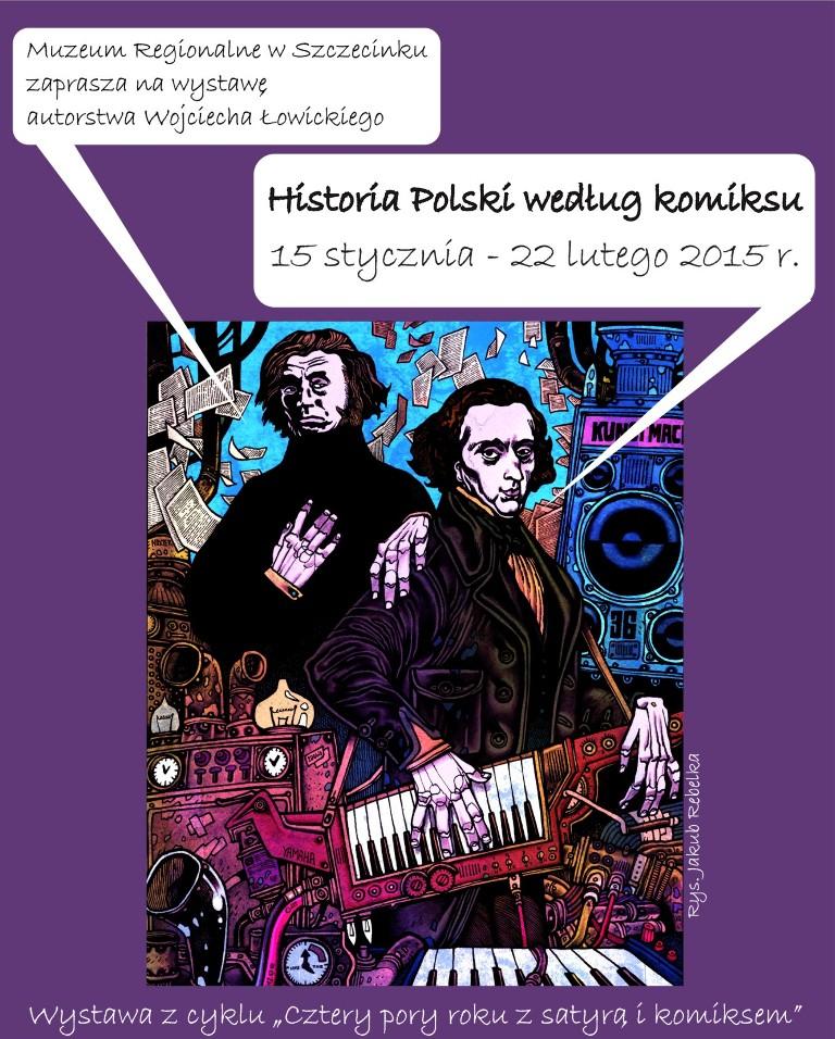 """""""Historia Polski według komiksu"""", fragment komiksu Grzegorza Janusza i Jakuba Rebelki """"Paryż 1836"""" (źródło: materiały prasowe)"""