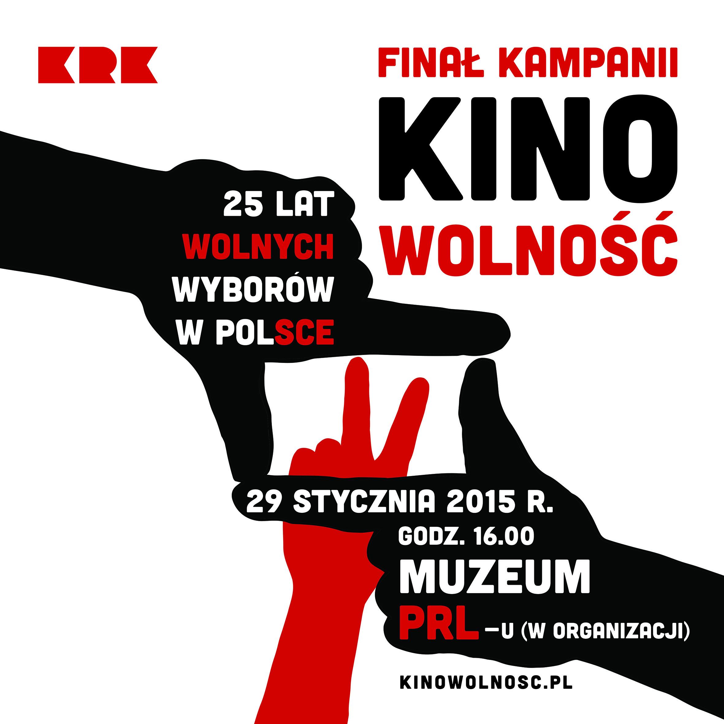 Finał projektu Kina Wolności odbędzie się w Krakowie (źródło: materiały prasowe organizatora)