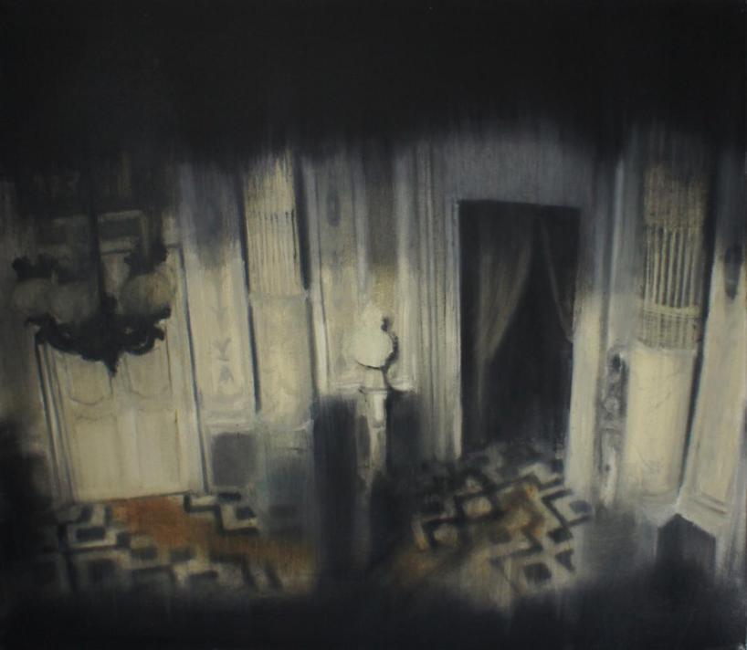 """Łukasz Stokłosa, """"Il Gattopardo"""", 2014, olej na płótnie, 70x80 cm, dzięki uprzejmości Galerii Zderzak (źródło: materiały prasowe organizatora)"""