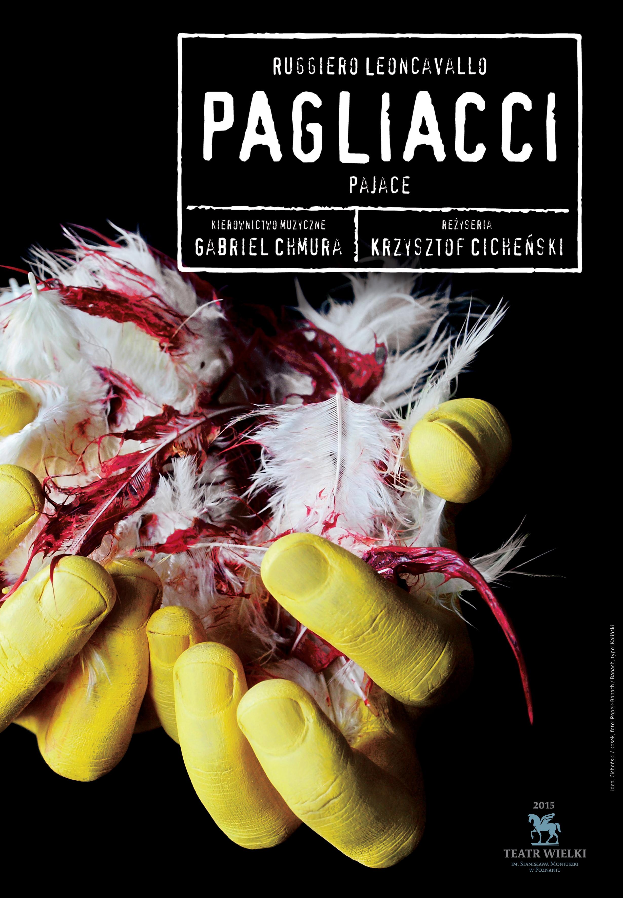 """""""Pagliacci"""", reż. Krzysztof Cicheński (źródło: materiały prasowe organizatora)"""