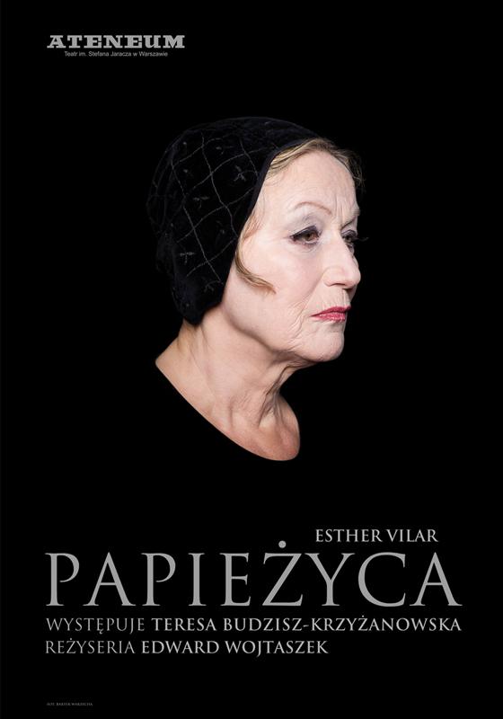 """""""Papieżyca"""", reż. Edward Wojtaszek, plakat (źródło: materiały prasowe organizatora)"""