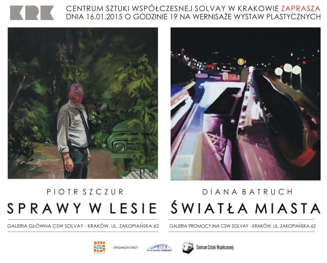 Wystawy Piotra Szczura i Diany Batruch w CSW Solvay (źródło: materiały prasowe)
