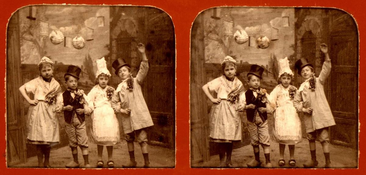 Stereografia – Czwórka dzieci (źródło: materiały prasowe organizatora)