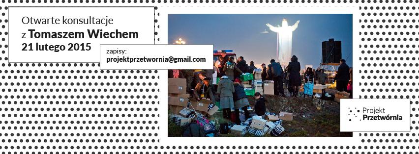 Konsultacje z Tomaszem Wiechem, 3. Projekt Przetwórnia, Stowarzyszenie Fotograficzne Fotobzik (źródło: materiały prasowe organizatora)