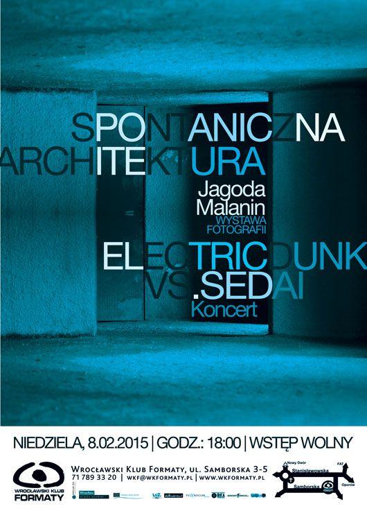 """""""Spontaniczna Architektura"""", plakat (źródło: materiały prasowe)"""