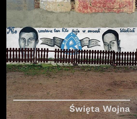 """Wojciech Wilczyk, """"Święta Wojna"""", okładka książki (źródło: materiały prasowe organizatora)"""