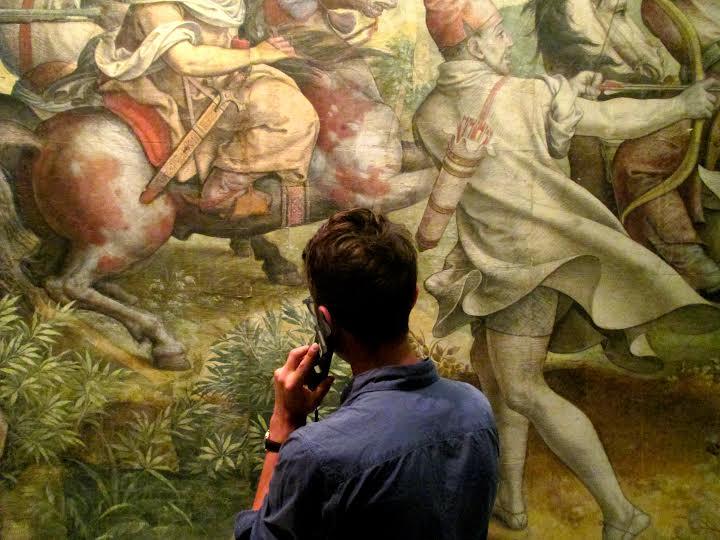 """""""Mille Regretz"""", projekt audioprzewodnika dla Kunsthistorisches Museum w Wiedniu, 2013, fot. Benny Nemerofsky Ramsay (źródło: materiały prasowe organizatora)"""