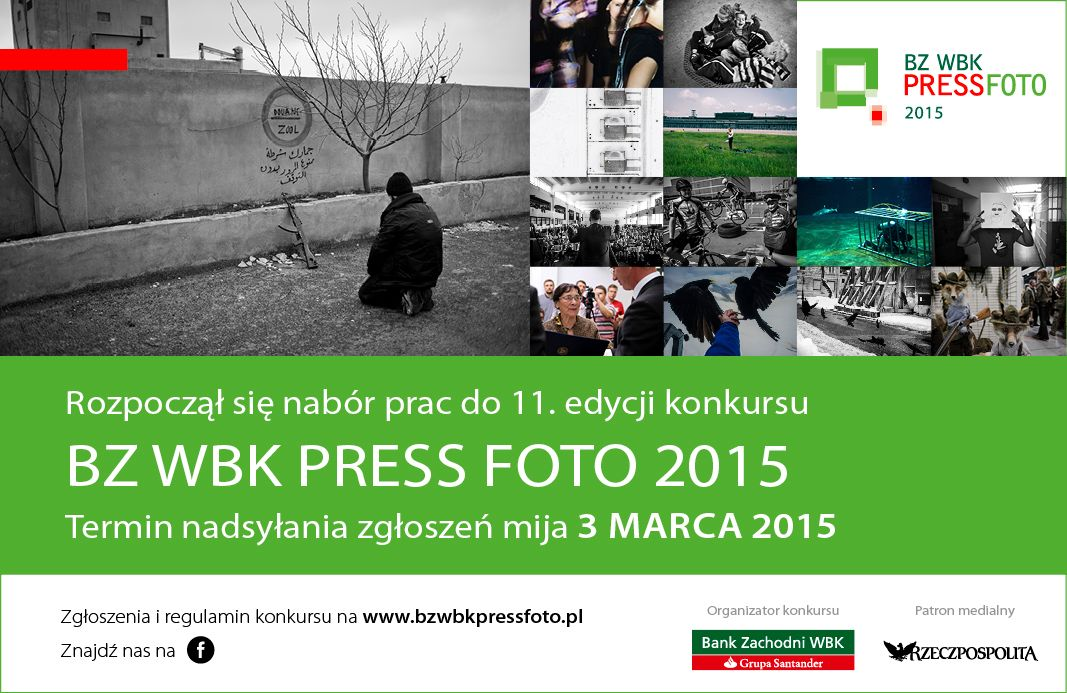 BZ WBK Press Foto 2015, plakat (źródło: materiały prasowe organizatora)