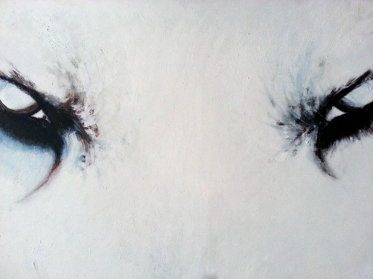 """Dominika Bęc, """"Biały wilk"""" (źródło: materiały prasowe organizatora)"""