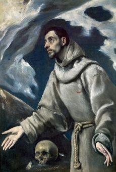 """Dominikos Theotokopulos zwany El Greco, """"Ekstaza św. Franciszka"""" (źródło: materiały prasowe organizatora)"""