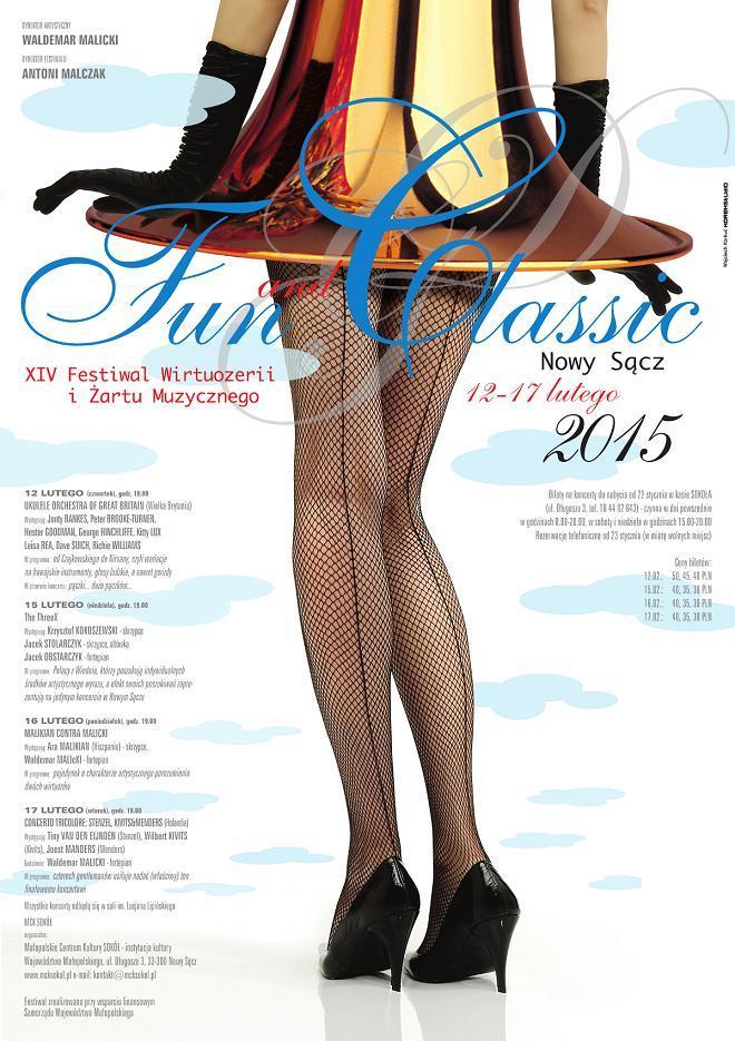 Plakat 8. edycji festiwalu FUN & CLASSIC