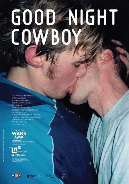 """""""Good night cowboy"""", plakat (źródło: materiały prasowe)"""