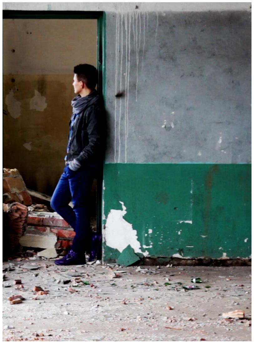 """Katarzyna Swinarska, """"3 portrety: Nieznalska, Baumgart, Ołowska"""", kadr z filmu (źródło: materiały prasowe organizatora)"""