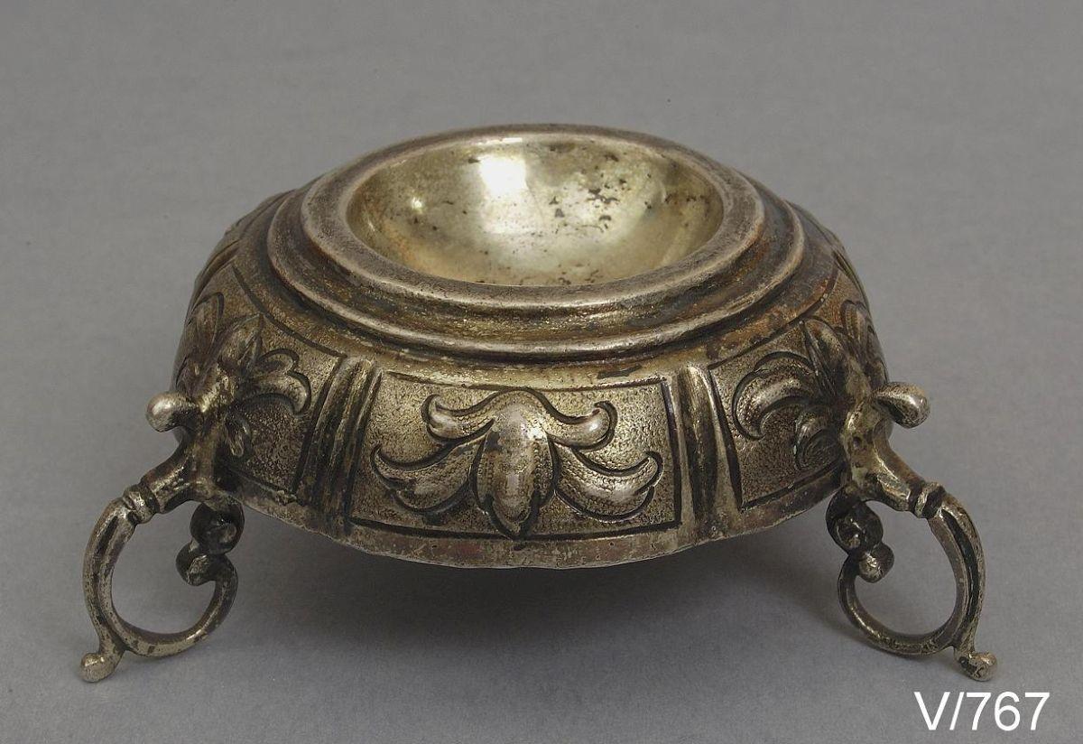 Solniczka, złotnik Hans Luecker, Augsburg (źródło: materiały prasowe)