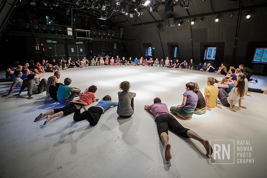 Międzynarodowy festiwal kontakt improwizacji, fot. Rafał Nowak (źródło: materiały prasowe organizatora)