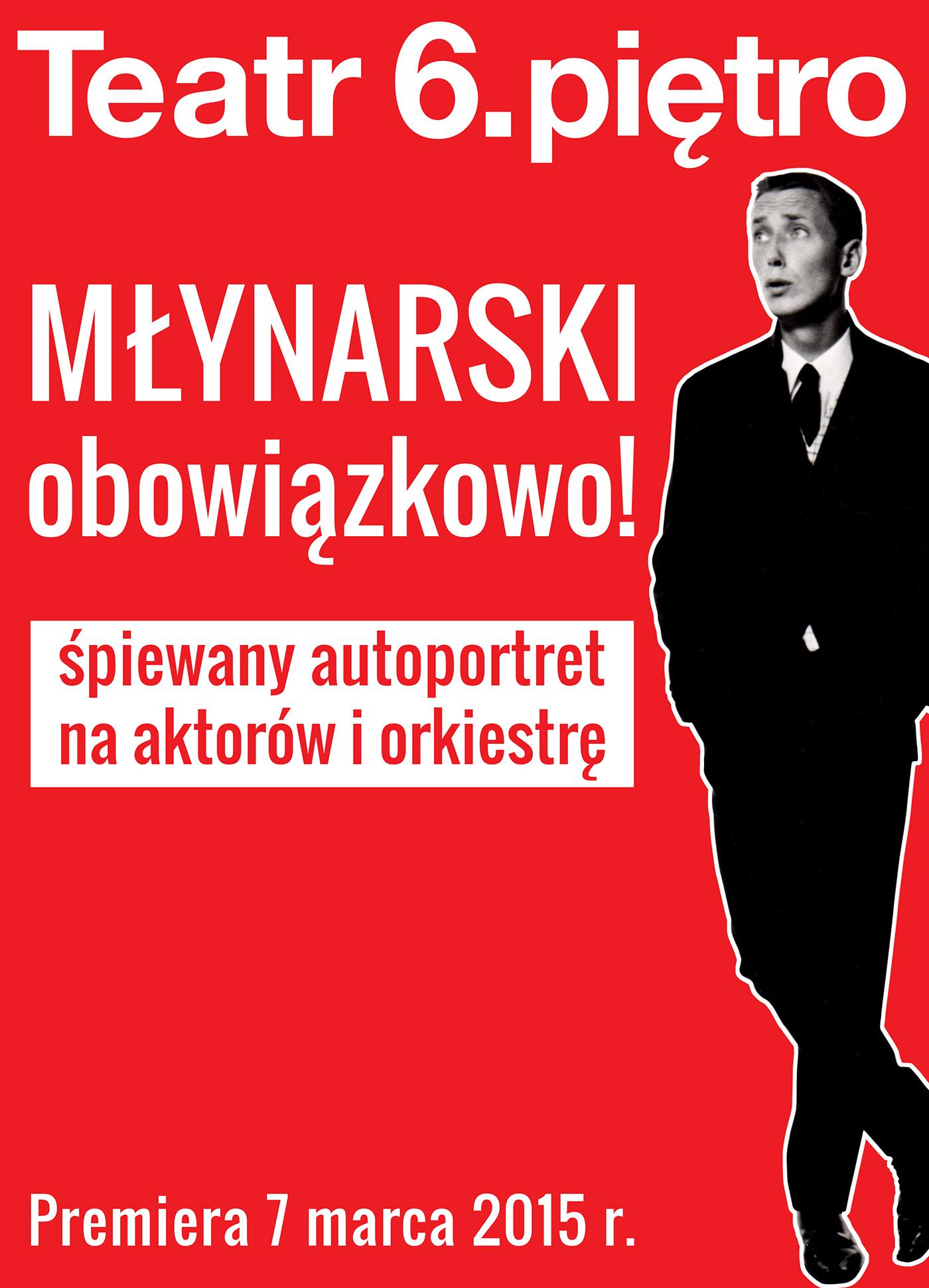 MŁYNARSKI obowiązkowo!, plakat (źródło: materiały prasowe organizatora)