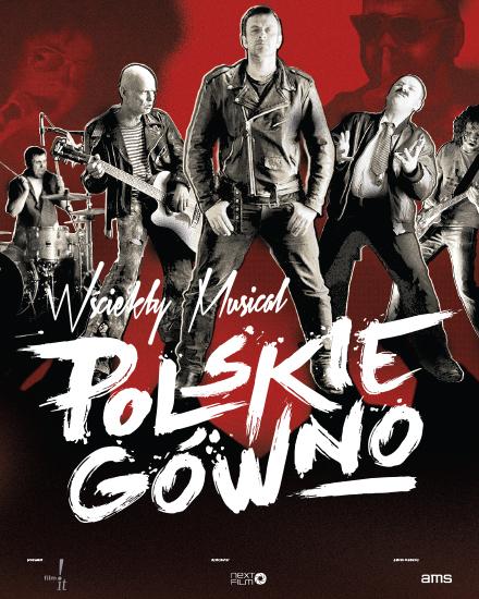 """Plakat """"Polskie gówno"""", reż. Tymon Tymański (źródło: materiały prasowe organizatora)"""