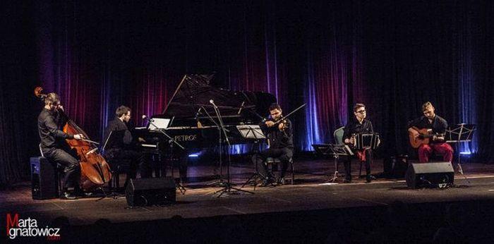 Quinteto Rapido, fot. Marta Ignatowicz (źródło: materiały prasowe)