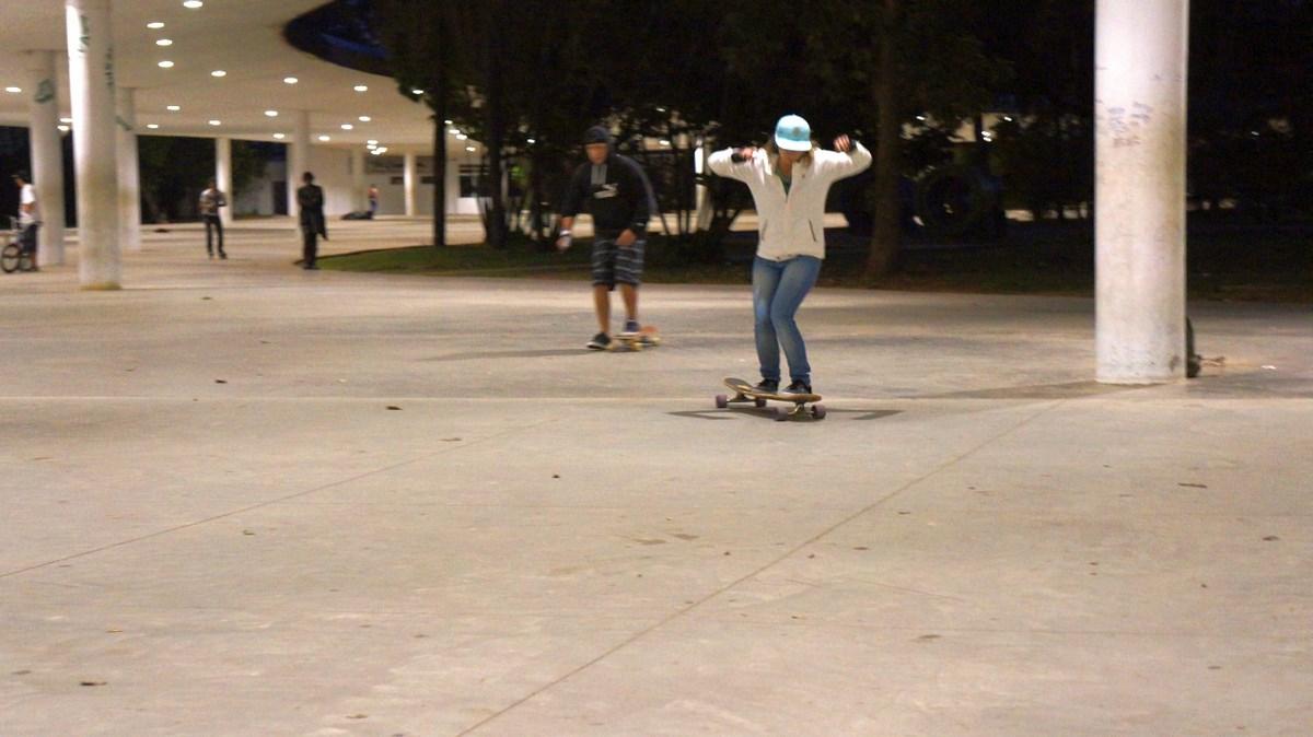 """""""Skate Concrete"""", instalacja """"Test Exposure"""", Centrum Sztuki WRO we Wrocławiu (źródło: materiały prasowe organizatora)"""
