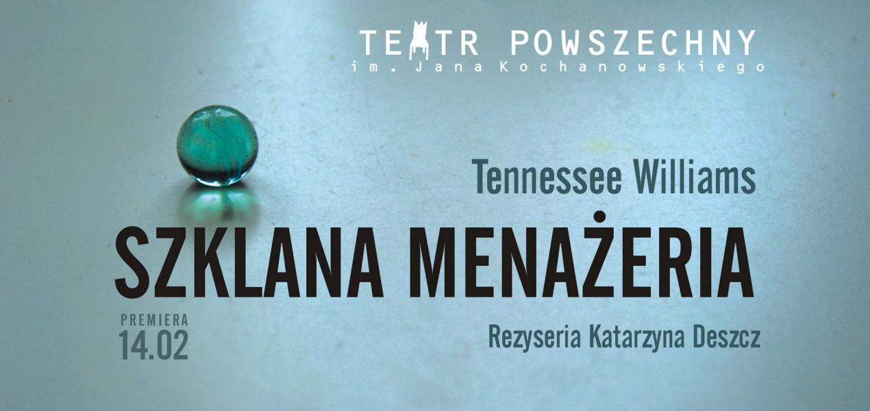 """""""Szklana menażeria"""", reż. Katarzyna Deszcz (źródło: materiały prasowe organizatora)"""