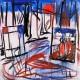 """Zdzisław Nitka, """"Las, Munch, Mondrian"""", 2011 (źródło: materiały prasowe)"""