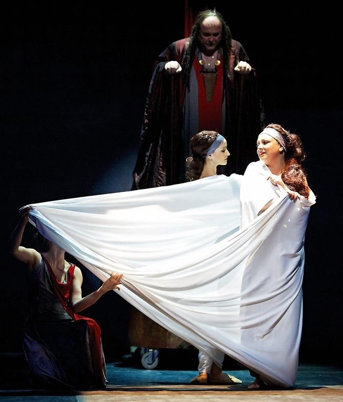 """""""Ariadna na Naxos"""", Richard Strauss, fot. Jacek Jarczok (źródło: materiały prasowe organizatora)"""