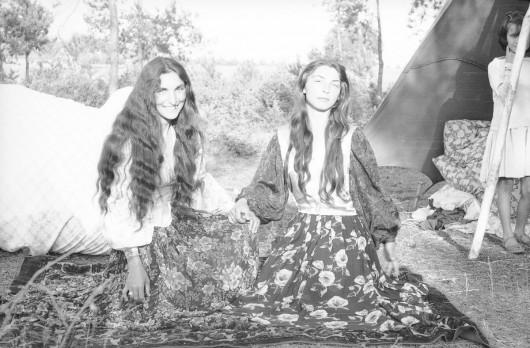 Fotografie Cyganów, lata 50.–70. XX w., fot. Jerzy Ficowski (źródło: materiały prasowe)