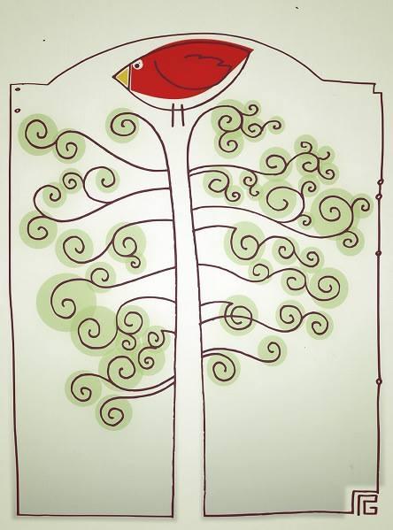 Drzewko emausowe, rys. Robert Gaweł (źródło: materiały prasowe)