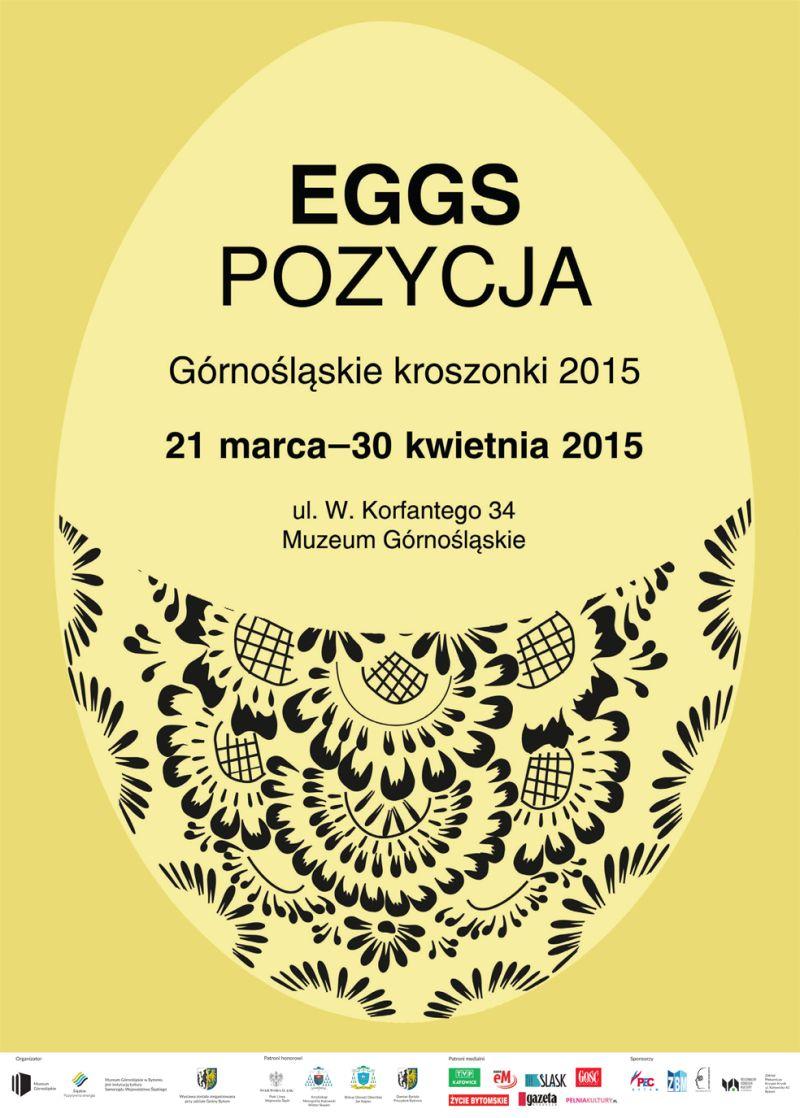 """""""EGGSpozycja"""" – plakat (źródło: materiał prasowy organizatora)"""