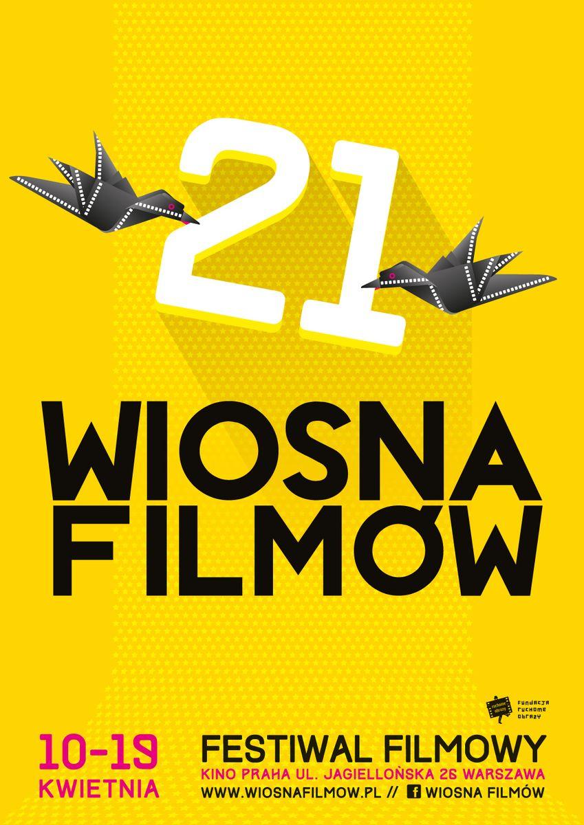 Festiwal Filmowy Wiosna Filmow, plakat (źródło: materiały prasowe organizatora)
